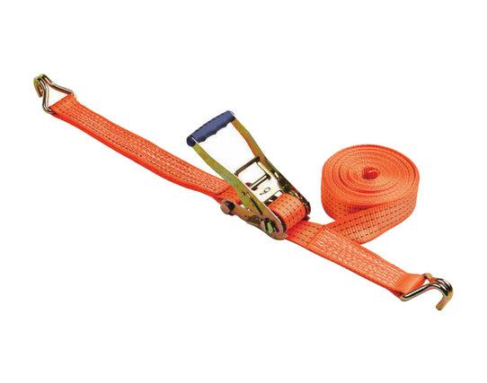 Correa de amarre de trinquete de aluminio segura de buena calidad Cincha 100% poliéster con ganchos BYRS003